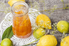 Orange marmalade Stock Photos