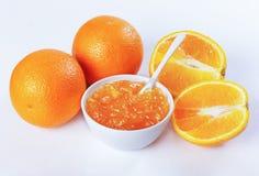 Orange marmalade, orange Royalty Free Stock Photos