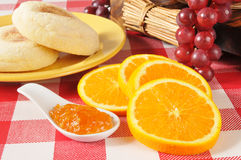 Orange marmalade Stock Photo