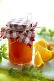 Orange marmelade Royalty Free Stock Photos