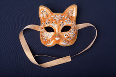Orange mask Stock Photos