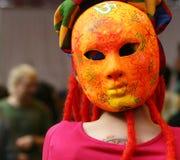 Orange mask Royalty Free Stock Photo