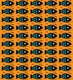 Orange Meer Lizenzfreies Stockfoto