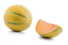 Orange melon Royalty Free Stock Image