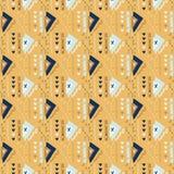 Orange Memphis Style Geometric Abstract Seamless Vector Pattern. Memphis Style Geometric Abstract Seamless Vector Pattern, Drawn Nautical Blue Graphic stock illustration
