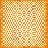 Orange mesh pattern Stock Photography