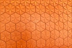 Orange Metal background Stock Photos