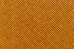 Orange metal diamond plate Royalty Free Stock Photography
