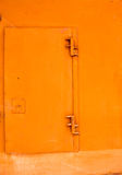 Orange Metal Door Stock Images