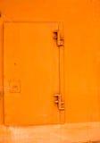 Orange Metal Door Stock Images