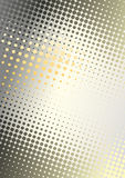Orange Metal Dots background Stock Photography