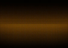 Orange Metal Plating stock image