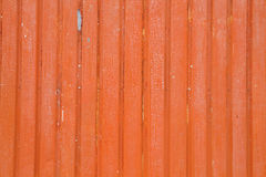 Orange metalic wall. Background or texture Stock Image