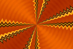 Orange Metallic Abstract. Abstract Metallic & Orange Background with a rippled effect Royalty Free Stock Photos