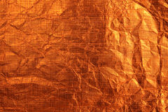 Orange metallic background Stock Image