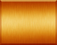 Orange Metallic Plate. Orange metallic texture and background Stock Photography