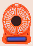 Orange Minifan Lizenzfreie Stockbilder