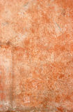 Orange mixed Painting on the wall, Cement orange wall background.  Royalty Free Stock Photos