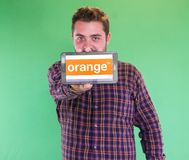Orange Mobile Network Stock Photography