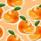 Orange modell för vektor Fotografering för Bildbyråer