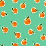 Orange modell för vektor Royaltyfri Bild