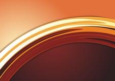 Orange Modern Colorful Background Stock Image