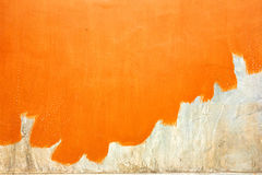 Orange modern wall Stock Photos