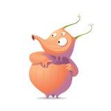 Orange Monster vektor abbildung