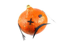 Orange monster. Royalty Free Stock Image