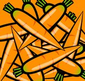 Orange morötter Royaltyfri Fotografi