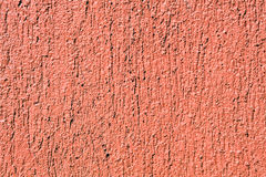 Orange mortar wall texture Royalty Free Stock Image