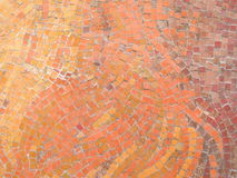 Orange mosaic Royalty Free Stock Images