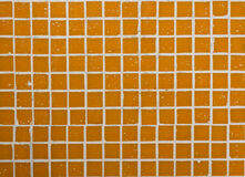 Orange mosaic background Royalty Free Stock Image