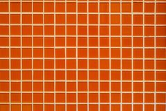 Orange mosaic texture Royalty Free Stock Photo