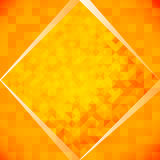 Orange mosaic tiles Royalty Free Stock Images
