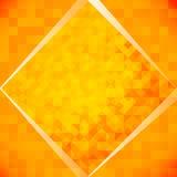 Orange mosaic tiles Royalty Free Stock Images