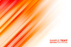 Orange motion abstract background Stock Photo