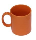 Orange mug Royalty Free Stock Photography