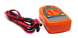 Orange multimeter Royalty Free Stock Photos