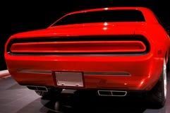 Orange Muscle Car Stock Image