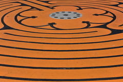 Orange Muster Lizenzfreie Stockfotos