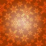 Orange nahtloser Hintergrund Lizenzfreie Stockfotografie