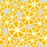 Orange nahtloser Hintergrund Lizenzfreies Stockfoto