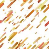 Orange nahtloses diagonales Steigungsstreifen-Hintergrundmuster Vektor Abbildung