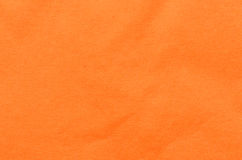 Orange napkin background Stock Photos