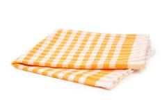 Orange napkin Royalty Free Stock Images