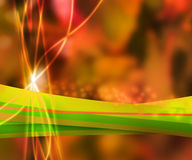 Orange Nature Abstract Background Royalty Free Stock Image