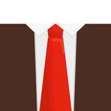 Orange necktie man shirt father day Royalty Free Stock Photos