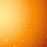 Orange net connection dot abstract background. Vector illustration Stock Photos