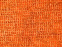 Orange net on fabric Stock Photography